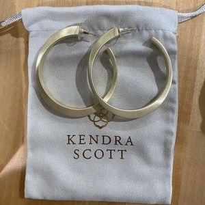 Kendra Scott Avi hoops gold earrings